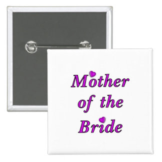 Mother of the Bride Simply Love Buttons