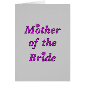Mother of the Bride Simply Love Cards