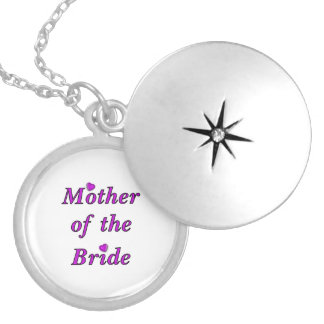 Mother of the Bride Simply Love Round Locket Necklace