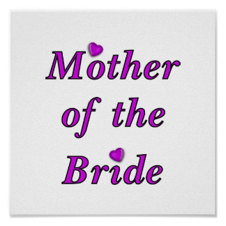 Mother of the Bride Simply Love Poster