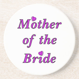 Mother of the Bride Simply Love Sandstone Coaster