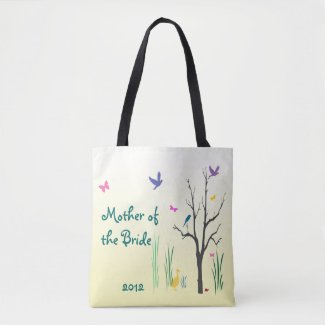 Mother of the Bride Springtime Wedding Tote Bag
