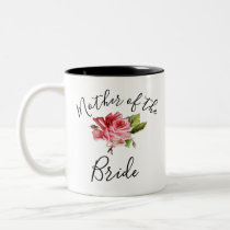 Mother of the Bride Two-Tone Coffee Mug