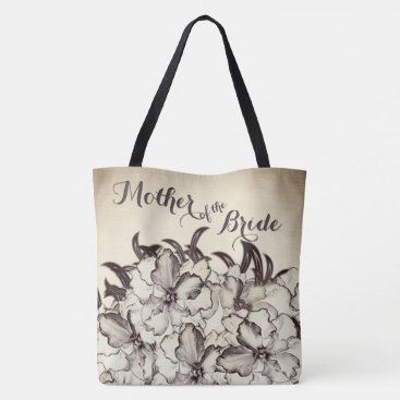 Wedding Themed Mother of The Bride Vintage Tote Bag