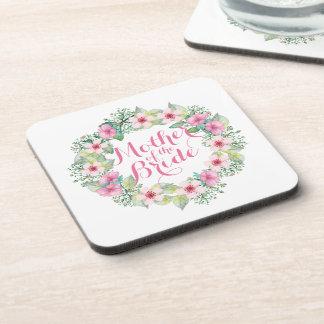 Mother of the Bride Watercolor Wedding   Coaster