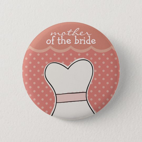 Mother of the Bride -- Wedding dress // PINK Button