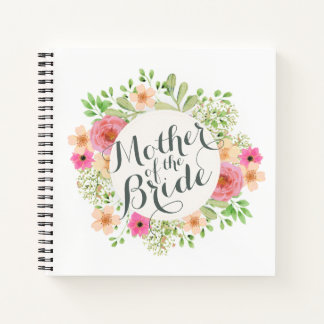 Mother of the Bride Wedding Guestbook Notebook