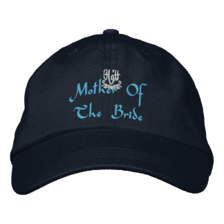 Mother Of The Bride Wedding I Navy Embroidered Baseball Cap