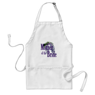 Mother of the Bride/ Wisteria Wedding Adult Apron