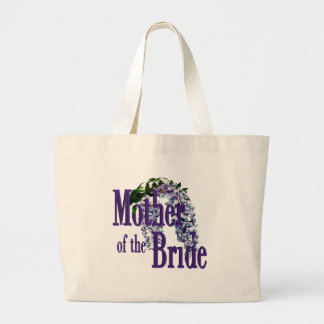 Mother of the Bride/ Wisteria Wedding Tote Bag