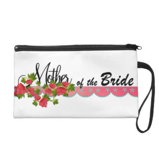 Mother of the Bride Wristlet Clutches