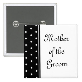 Mother of the Groom 2 Inch Square Button