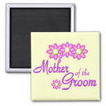 Mother of the Groom 2 Inch Square Magnet