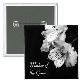 Mother of the Groom Alstroemeria Lily Button