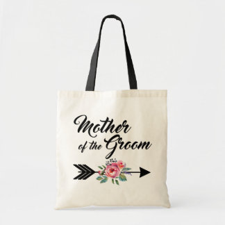 Mother of the Groom Arrow Tote Bag
