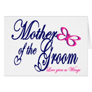 Mother of the Groom/ Butterfly Card