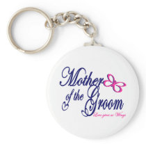 Mother of the Groom/ Butterfly Keychain