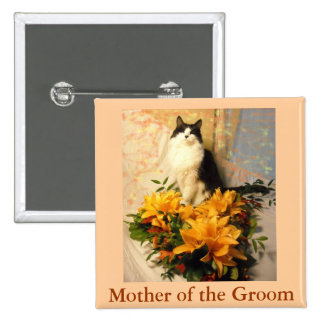 Mother of the Groom Button
