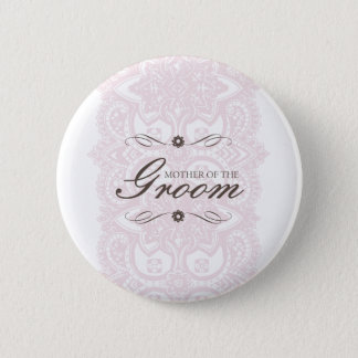 Mother of the Groom Button-Vintage Bloom Pinback Button