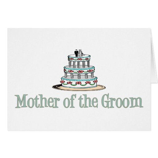 Mother Of The Groom (Cake) Cards