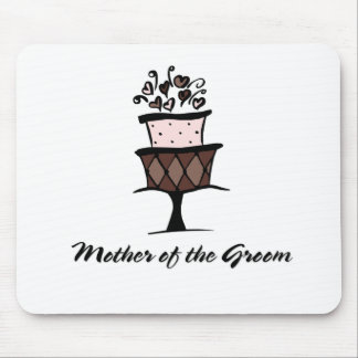 Mother of the Groom Cake Mouse Pad