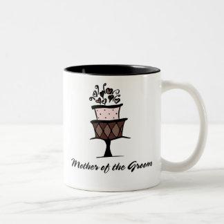 Mother of the Groom Cake Two-Tone Coffee Mug