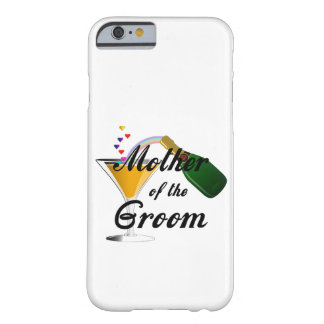 Mother of the Groom Champagne Toast Barely There iPhone 6 Case
