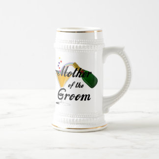 Mother of the Groom Champagne Toast Beer Stein
