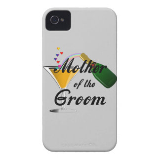 Mother of the Groom Champagne Toast Blackberry Cases