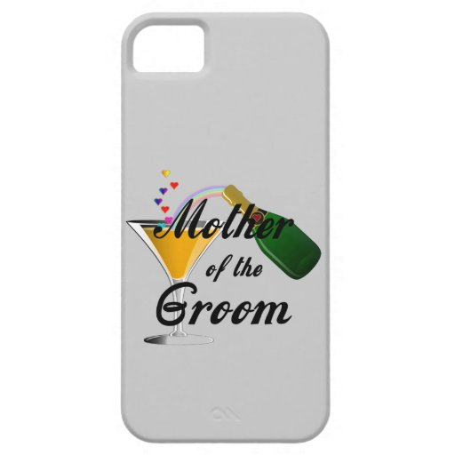 Mother of the Groom Champagne Toast iPhone 5 Case