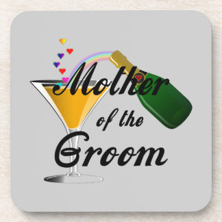 Mother of the Groom Champagne Toast Coaster