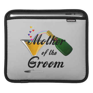Mother of the Groom Champagne Toast iPad Sleeves