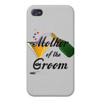 Mother of the Groom Champagne Toast iPhone 4/4S Cover
