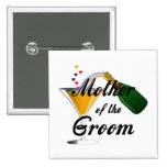 Mother of the Groom Champagne Toast Pin
