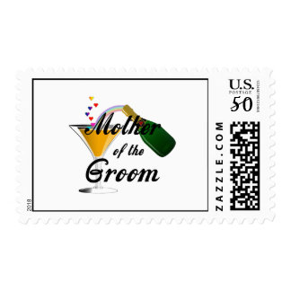 Mother of the Groom Champagne Toast Postage