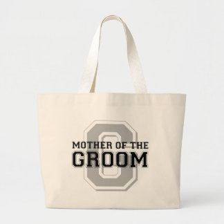 Mother of the Groom Cheer Large Tote Bag