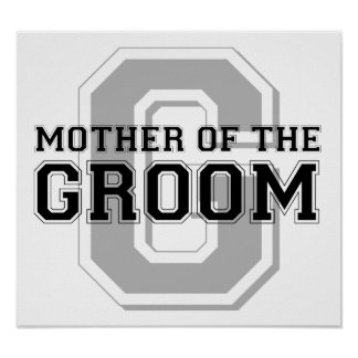 Mother of the Groom Cheer Print