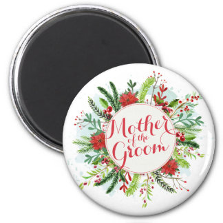 Mother of the Groom Christmas Wedding | Magnet