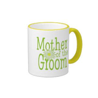 Mother of the Groom/ Daisy Ringer Coffee Mug
