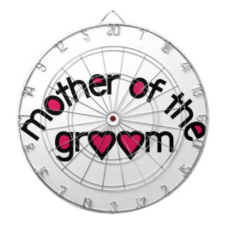 Mother Of The Groom Dartboard With Darts