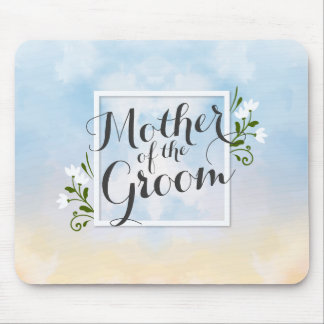Mother of the Groom Elegant Frame Wedding Mousepad