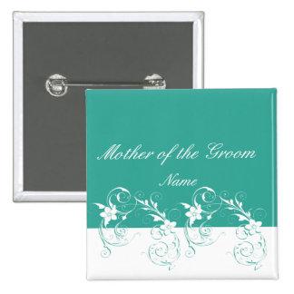 Mother of the Groom Elegant wedding Pin