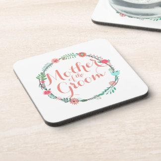 Mother of the Groom Elegant Wedding   Coaster