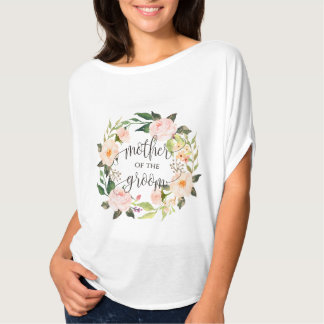 mother of the groom floral wreath -4 T-Shirt
