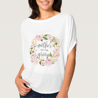 mother of the groom floral wreath -5 T-Shirt