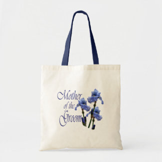 Mother of the Groom/ Iris Tote Bag