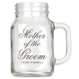 Mother of the Groom Mason Jar