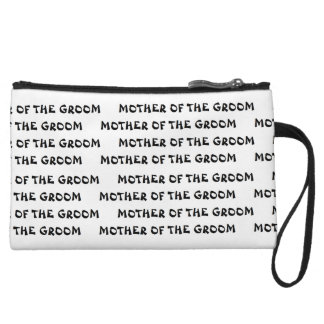 """Mother of the Groom"" Mini Clutch Wristlet Clutches"