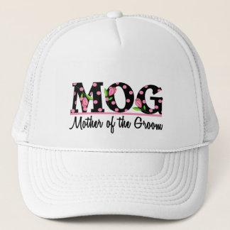 Mother of the Groom (MOG) Tulip Lettering Trucker Hat