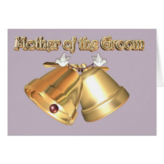 Mother of the Groom. mother's Mother. Mom of Groom Greeting Card